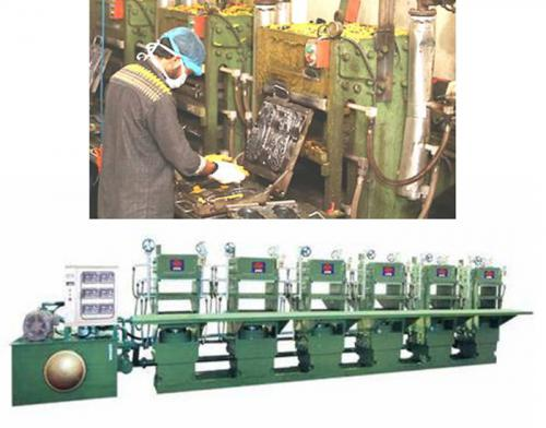 Multi Station Rubber Molding Machine