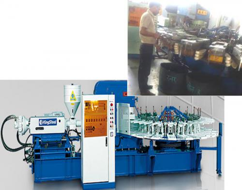 Air Blown PVC Injection Molding Machine